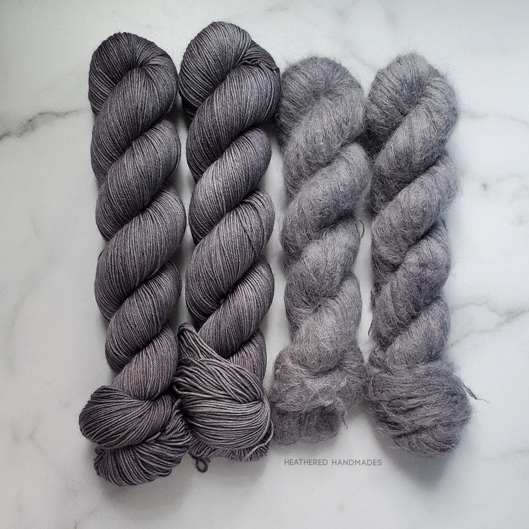 Charcoal—YARN—Heathered-Handmades—detail