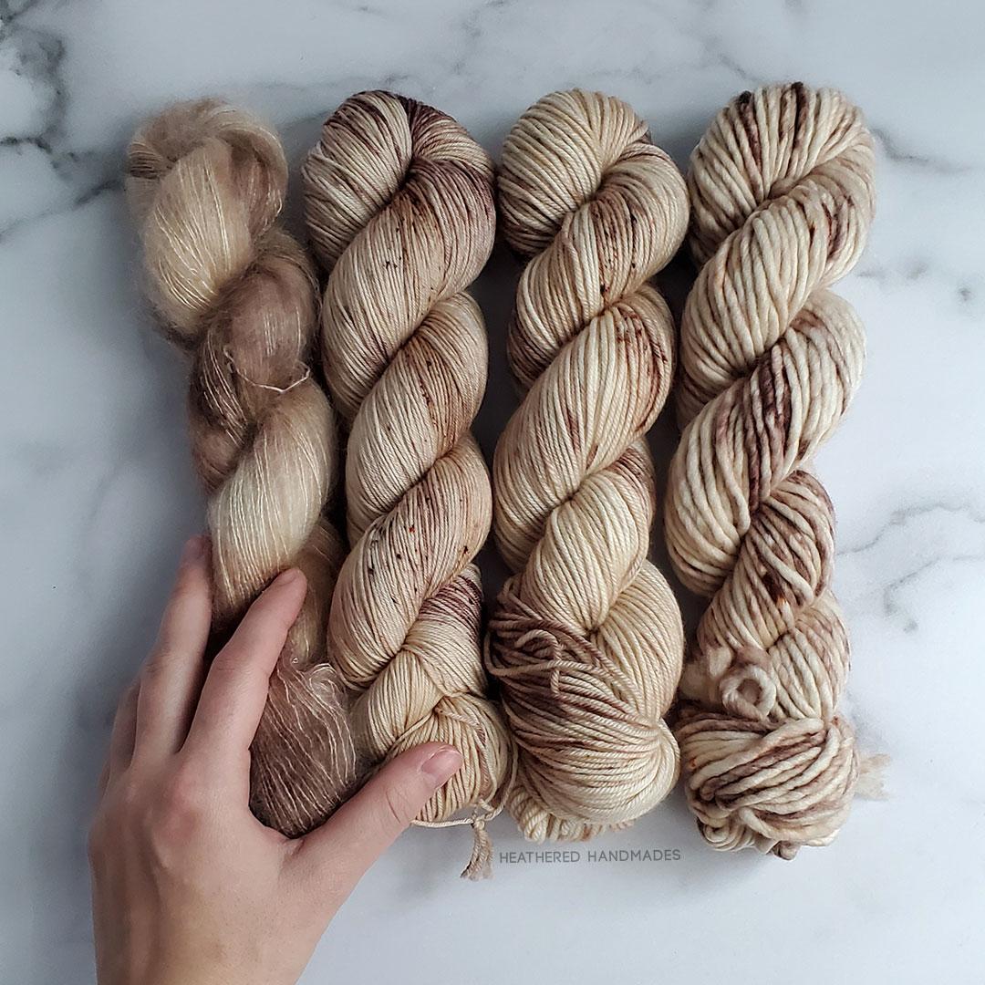 Toasted-Marshmallow—YARN—Heathered-Handmades—detail