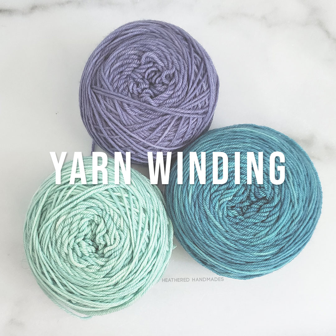 Yarn-Winding—YARN—Heathered-Handmades