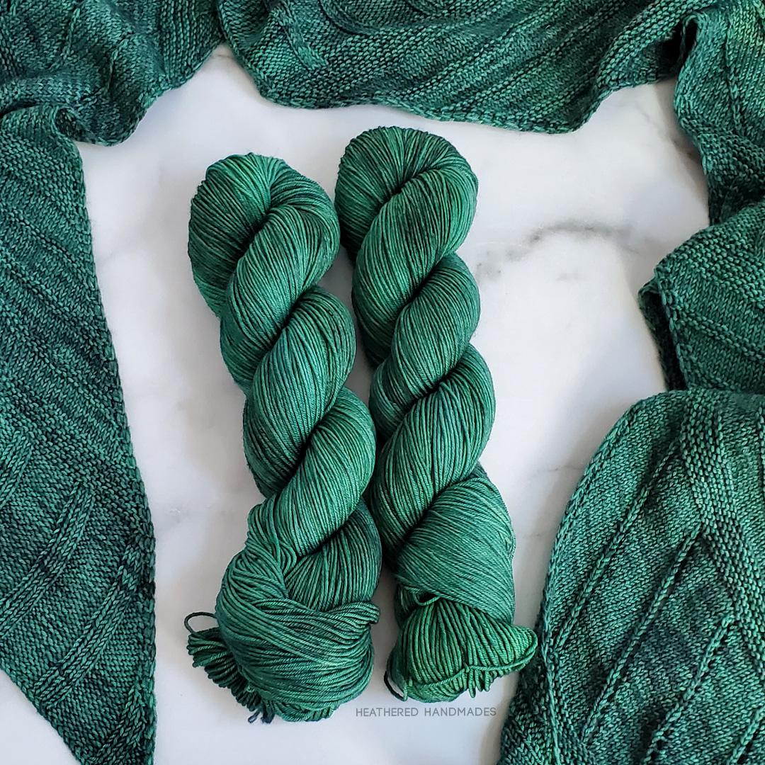 Emerald—YARN—Heathered-Handmades