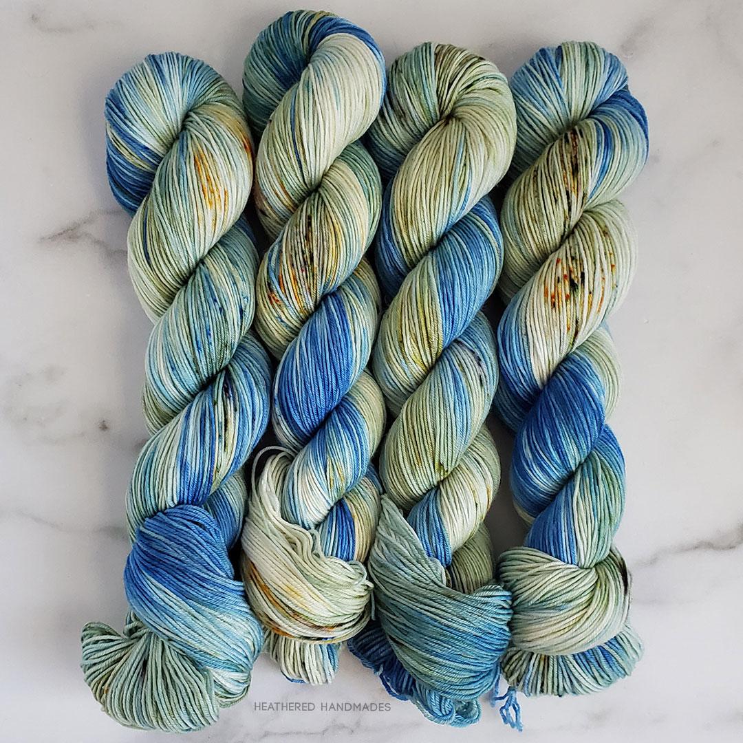 Bluebonnet-Field—YARN—Heathered-Handmades