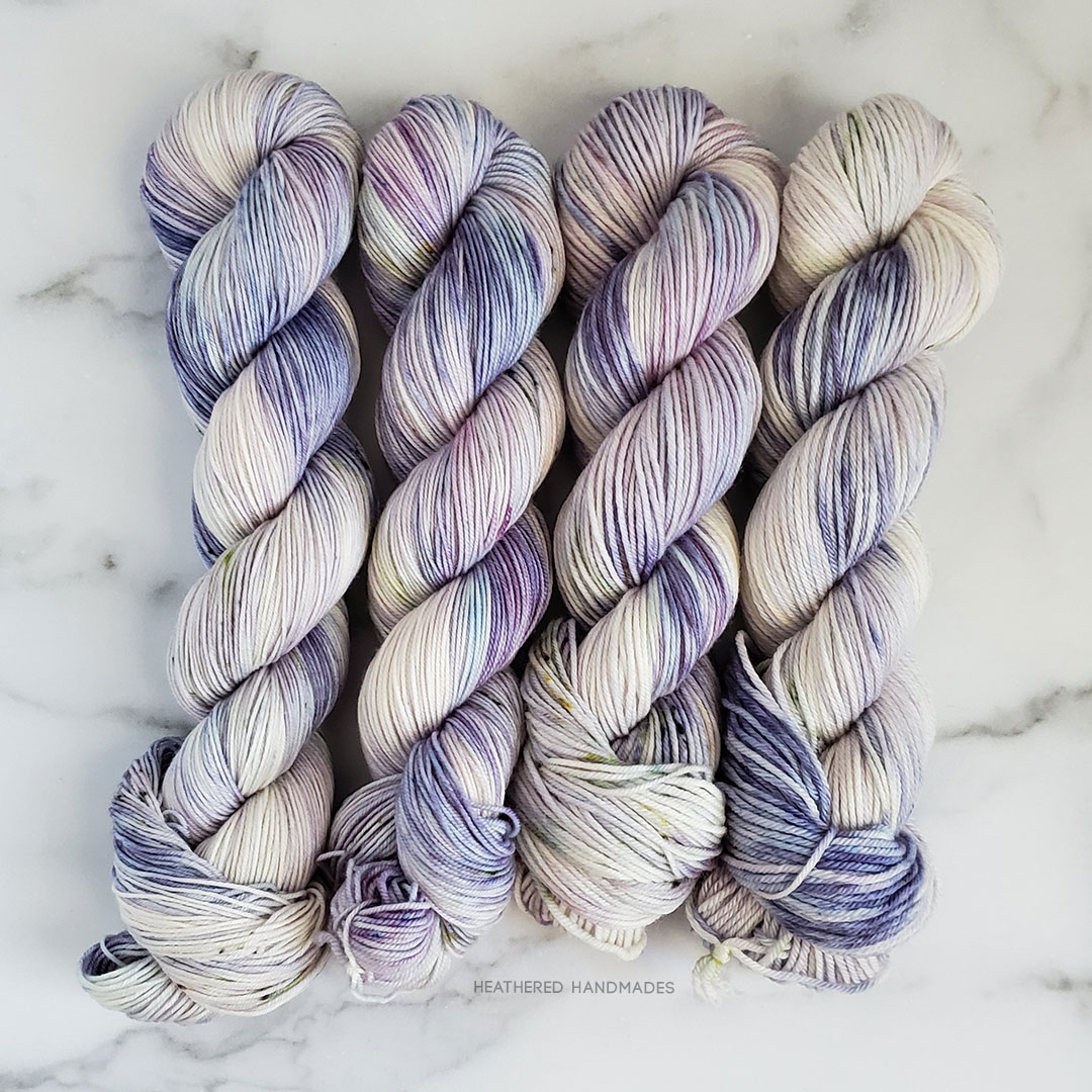Wisteria—YARN—Heathered-Handmades