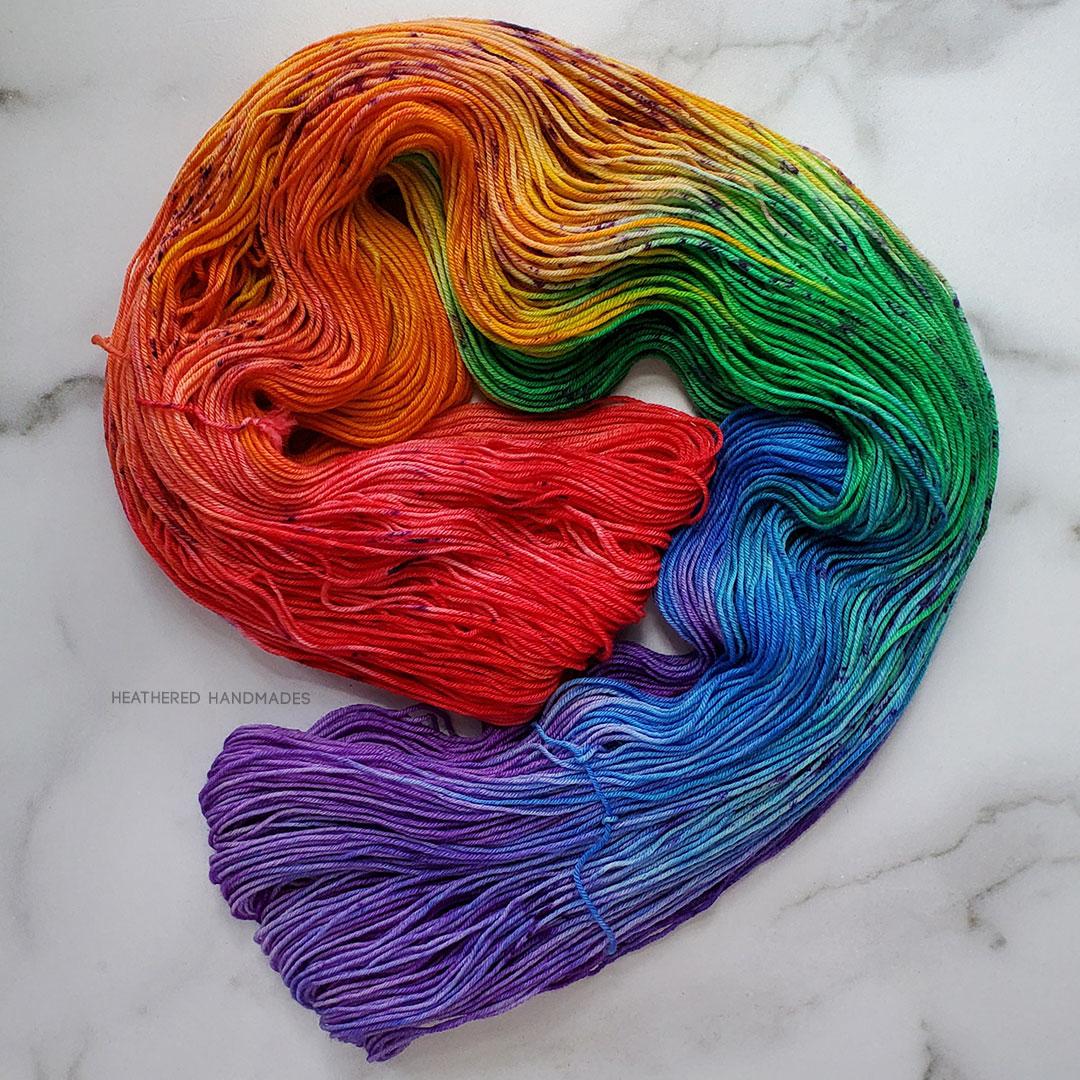 Rainbow-Cake—YARN—Heathered-Handmades